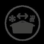 vajilla revol resistente al choque termico